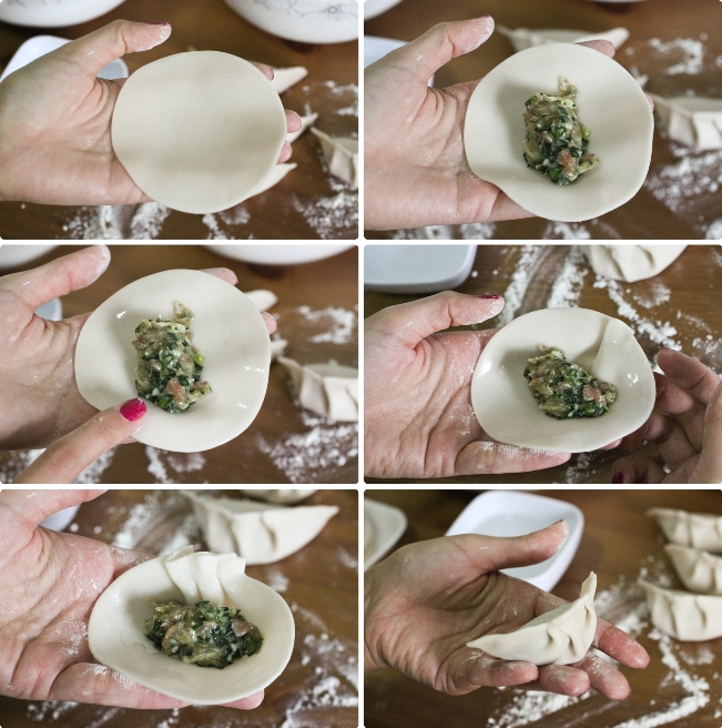 Chinese Chive Dumplings 韭菜餃子