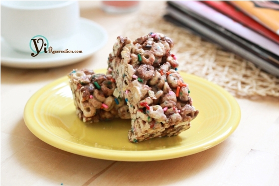 Post image for Chocolate Cheerio Krispie