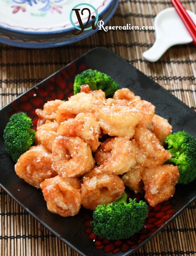 asian buffet coconut shrimp recipe