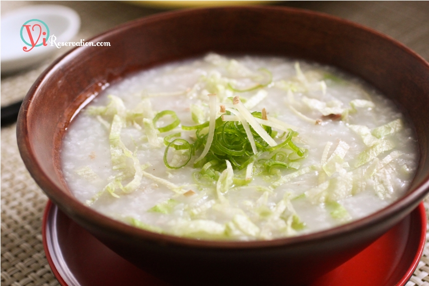 Congee with Minced Pork (瘦肉粥) | Yi Reservation