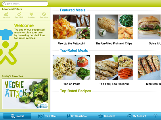 Post image for Cooking Planit App Review