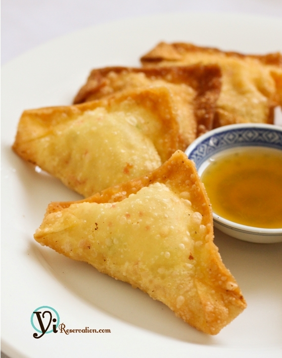 How to make Crab Rangoon (Cheese Wonton) | 炸蟹角