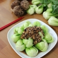 Bok Choy with Shiitake Mushroom