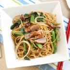 Spaghetti with Duck in Black Pepper Sauce | 黑椒烤鴨炒意粉
