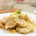 Fish Fillets in Creamy Corn Sauce ()