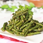 Spicy Chinese Long Beans (涼拌豆角)