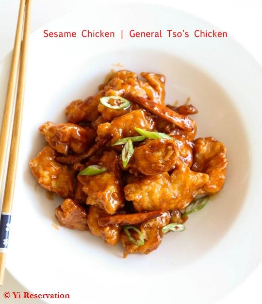 General Tso Chicken - Magazine cover