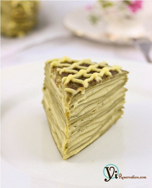 Post image for Green Tea Mille Crepe