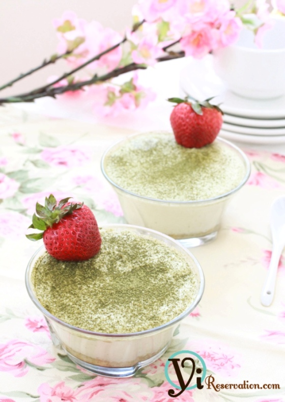 Post image for Mini Green Tea Tiramisu