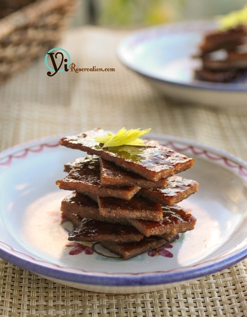 Post image for Honey Glazed Pork Jerky | 豬肉乾