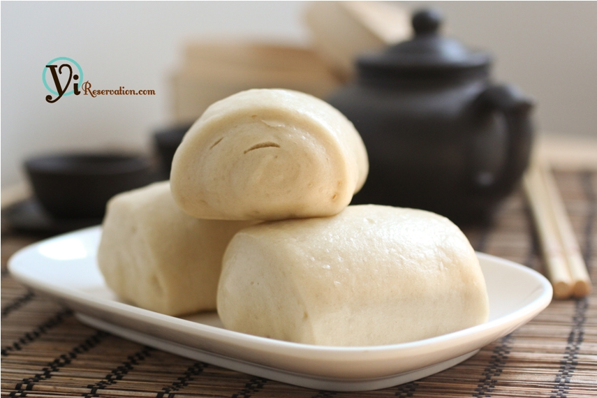 Mantou (Chinese Steamed Bun) 饅頭 | Yi Reservation