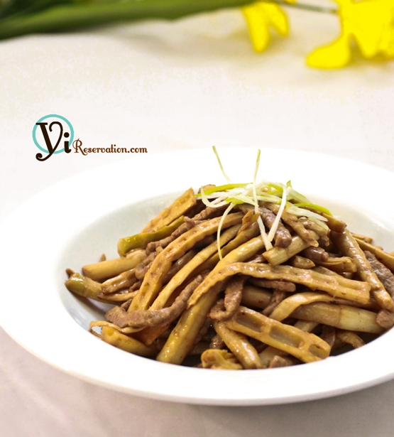 Bamboo and Pork Stir Fry
