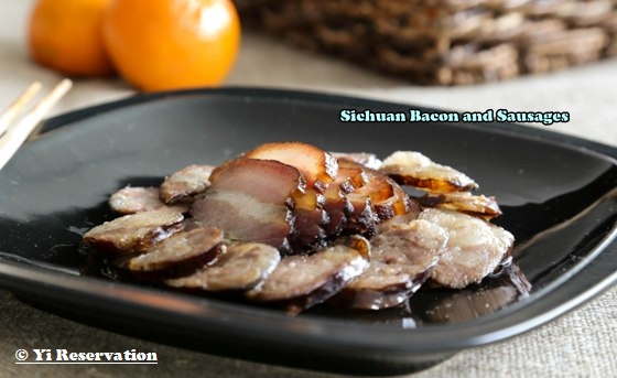 Sichuan Bacon and Sausages