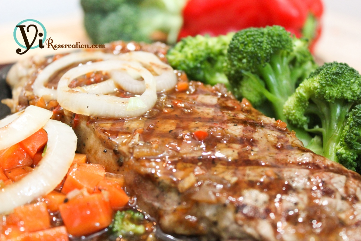 ... Special – Sizzling Steak in Black Pepper Sauce (鐵板黑椒牛扒