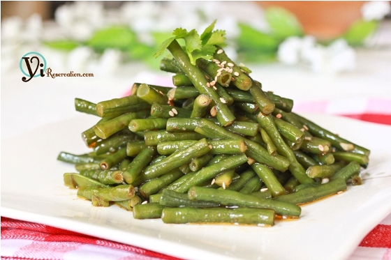 Post image for Spicy Chinese Long Beans (涼拌豆角)