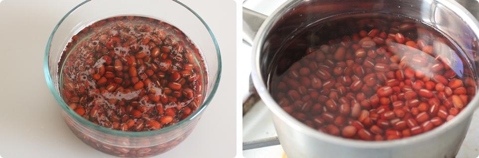 Steamed Red Bean Cake 紅豆糕
