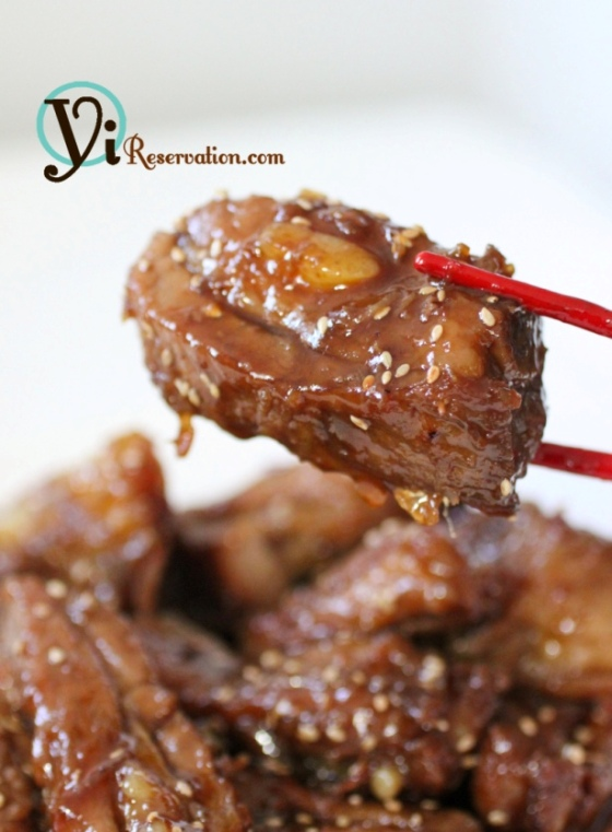 Sweet and Sour Spareribs (糖醋排骨)