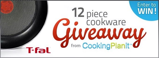 Post image for Cooking Planit and T-fal Cookware Giveaway is LIVE!!! [CLOSED]