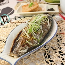 Traditional Steamed Fish (清蒸魚)