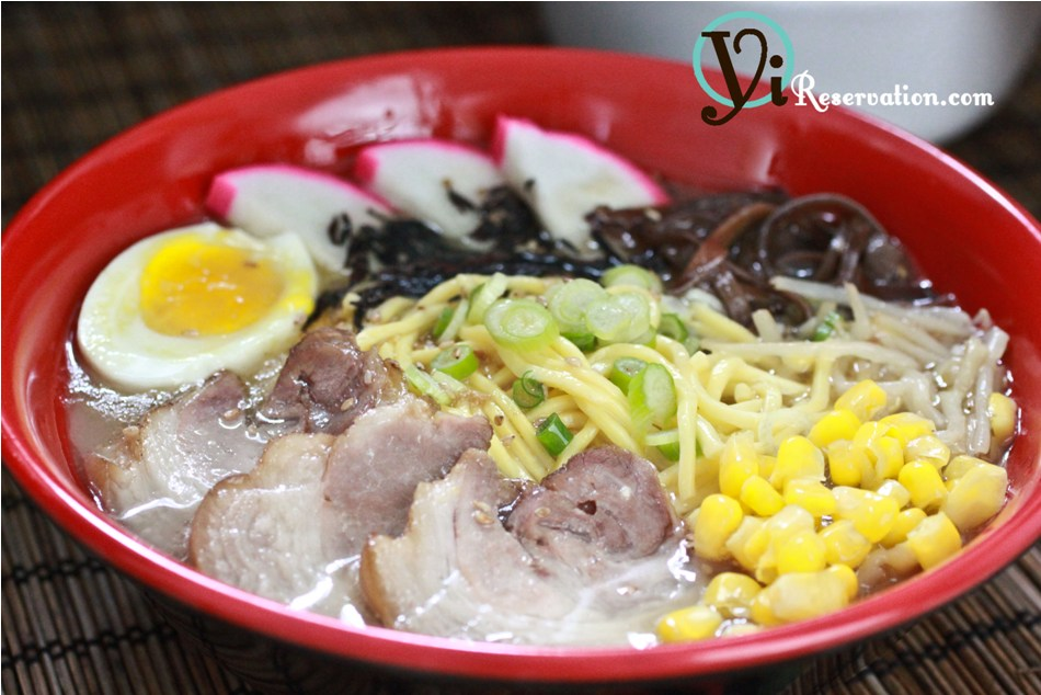 bowl or tonkotsu ramen i wanted to share the basic tonkotsu ramen ...