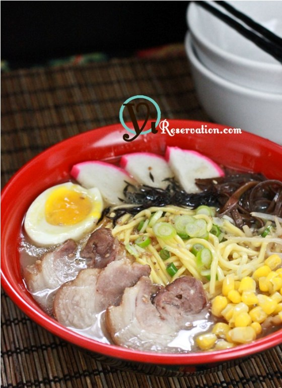 Post image for Homemade Tonkotsu Ramen