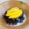 Thumbnail image for Black Rice with Mango in Coconut Sauce