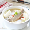 Thumbnail image for Fresh Chinese Yam with Spareribs Soup (山藥排骨湯)