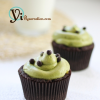 Thumbnail image for Green Tea Chocolate Fruit Jam Cupcake