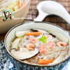 Thumbnail image for Seafood with Fuzzy Melon and Noodle Casserole (海鮮節瓜粉絲煲)